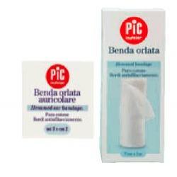 BENDA IN GARZA IDROFILA ORLATA PIC DRESSFIX 10X500CM FUSTELLA