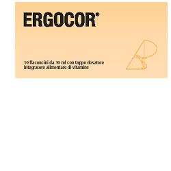 ERGOCOR 10 FLACONCINI 121 G