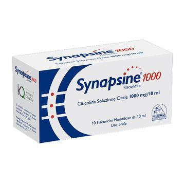 SYNAPSINE 1000 10 FLACONCINI 10 ML