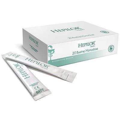 HEPILOR LIQUIDO MONODOSE 20 STICK PACK 20 ML