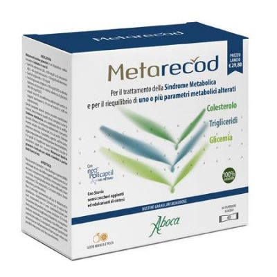METARECOD 40 BUSTINE GRANULARI X 2