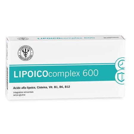 LFP LIPOICOCOMPLEX 600 30 COMPRESSE