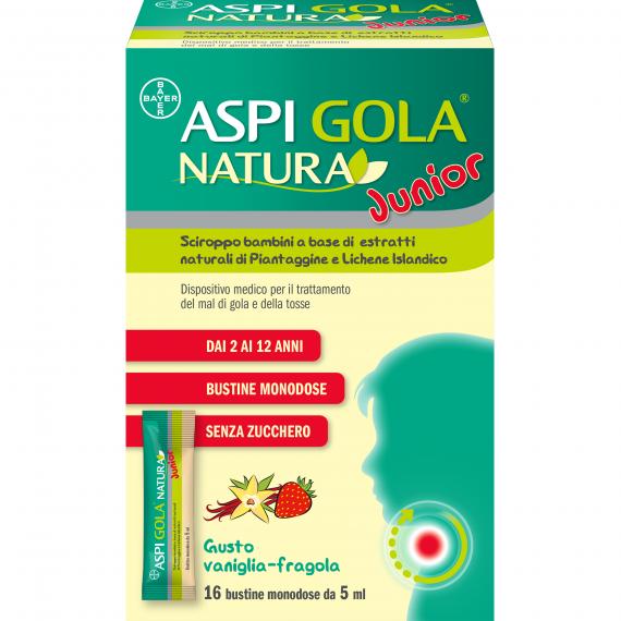 ASPI GOLA NATURA JUNIOR 16 BUSTINE MONODOSE DA 5 ML