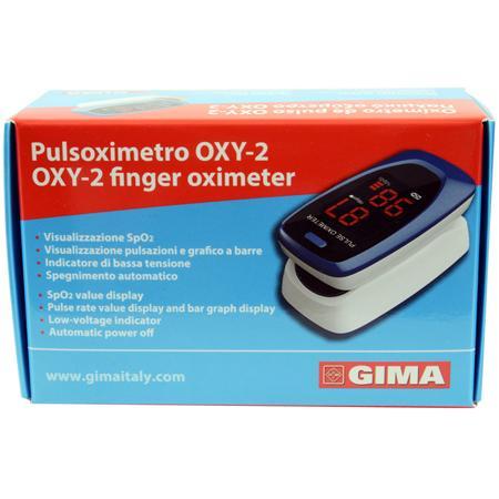 PULSOXIMETRO DA DITO OXY-2 SCHERMO LED 60X30