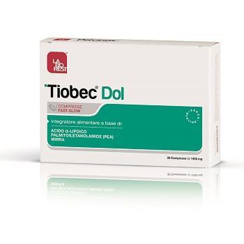 TIOBEC DOL 20 COMPRESSE DA 1455 MG