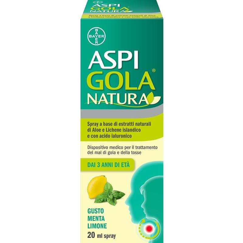 ASPI GOLA NATURA SPRAY MENTA LIMONE 20 ML
