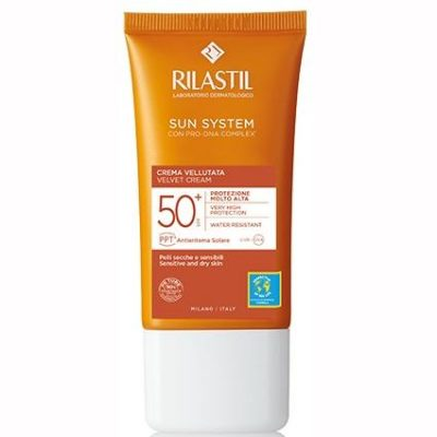 RILASTIL SUN SYSTEM PHOTO PROTECTION TERAPY SPF 50+ CREMA VELLUTANTE 50 ML